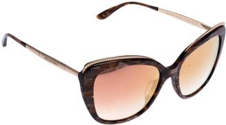 Dolce & Gabbana Pink Gradient/Cube Bronze DG4332F Sunglasses
