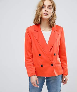 Vero Moda 80'S Blazer With Shoulder Pads-Red