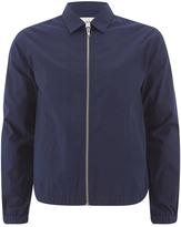Folk Zipped Jacket Bright Navy