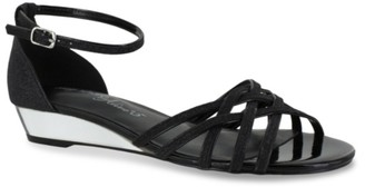 Easy Street Shoes Tarrah Wedge Sandal
