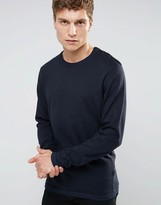 Jack and Jones Knitted Sweater in Crew Neck