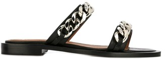 Givenchy Chain Trim Sandals