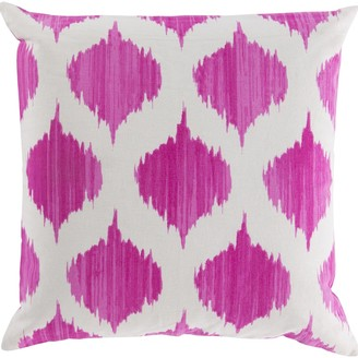 Overstock Decorative Edwards 22-inch Poly or Feather Down Filled Throw Pillow
