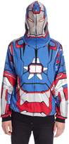 Marvel Iron Man 3 Patriot I Am Zip Up Hoodie Sweatshirt | S