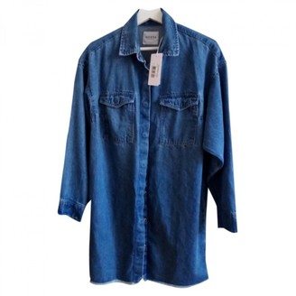 GUESS Blue Denim - Jeans Top for Women