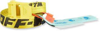 Off-White Men's Mini 20 Industrial Web Logo Belt