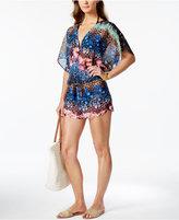 Rachel Roy Midnight Garden Printed Cover-Up Women's Swimsuit