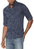 John Varvatos Floral Print Mitchell Slim Fit Button-Down Shirt