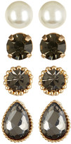 Cara Accessories Stud Earrings Set