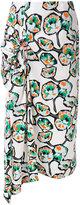 Marni printed draped skirt - women - Cotton - 38