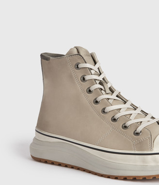 AllSaints Blakely High Top Leather Sneakers