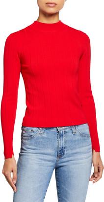 A.L.C. Koko Ribbed Crewneck Sweater