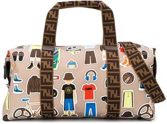 Fendi x Palestra gym bag