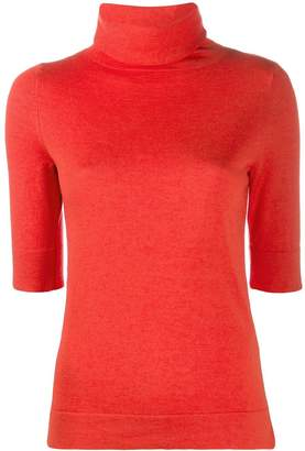 Snobby Sheep 3/4 sleeve roll neck top