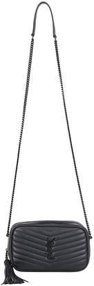 Saint Laurent Lou Quilted Mini Crossbody Bag