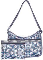 Le Sport Sac LG7520 Classic Zip Top Hobo Bag