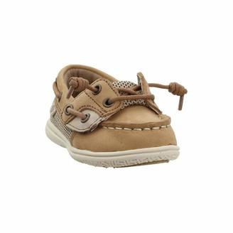 Sperry baby girls Shoresider Jr Crib Shoe