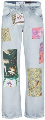 Loewe Paula's Ibiza high-rise straight jeans
