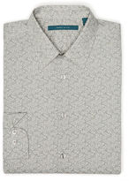 Perry Ellis Exclusive Two Color Paisley Shirt