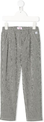 Il Gufo Gingham Check Trousers
