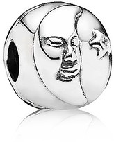 Pandora Clip - Sterling Silver & Cubic Zirconia Night & Day, Moments Collection