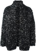 Yohji Yamamoto high neck open cardigan