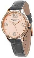 Stuhrling Original Women's 560.05 Symphony Analog Display Quartz Grey Watch
