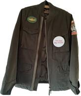 MHI Green Cotton Jackets