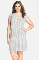Tart Plus Size Women's 'Mellie' Split Neck Jersey Dress