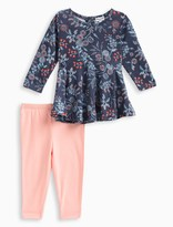 Splendid Baby Girl Floral Print Top and Pant Set