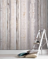 Graham & Brown Reclaimed Wood Wall Mural Wallpaper