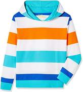 A for Awesome Boys Fun Space Print Hooded Sweartshirt ...
