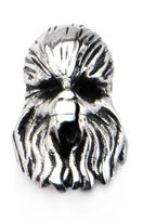 Star Wars 3D Chewbacca Bead Stainless Steel Charm