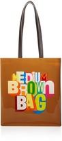 Bloomingdale's Greg Lamarche Medium Brown Bag - 100% Exclusive