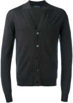 Etro v-neck cardigan - men - Wool - L