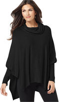 Alfani Sweater, Long Sleeve Cowlneck Poncho