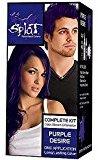 Splat Rebellious Colors Hair Coloring Complete Kit Purple Desire