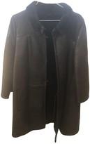 Ines Et Marechal Black Shearling Coats
