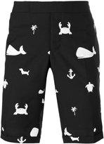 Thom Browne sea icon shorts