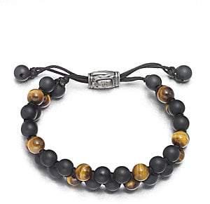 David Yurman Men's Beaded Bracelet