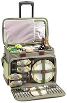 Picnic at Ascot Hamptons Picnic Cooler For Four On Wheels 30290