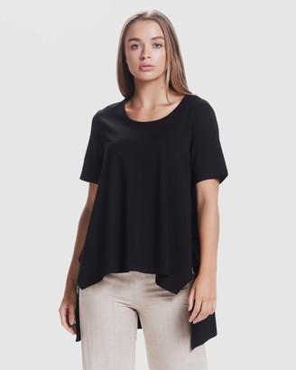 Privilege Luxe Draped T-Shirt