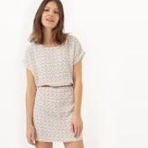 Kaporal 5 Short Printed Dress with Short Sleeves