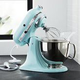 Crate & Barrel KitchenAid ® Artisan Ice Blue Stand Mixer