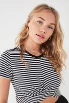 Urban Outfitters Twist Front Cropped Tee