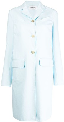 Lanvin Single Breasted Mid-Length Coat