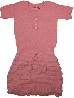 Manoush Pink Wool Dress for Women