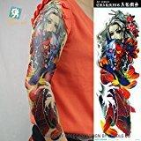 Body Art Temporary Removable Tattoo Stickers Sleeve - AC-013 Sticker Tattoo - FashionDancing