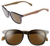 BOSS Men's 843/s 52Mm Sunglasses - Black/ Brown