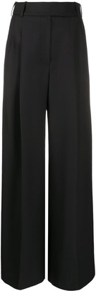 Alexandre Vauthier Embellished Wide Leg Trousers